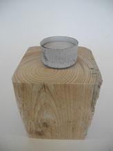 --OSLO-- Teelichthalter aus Treibholz