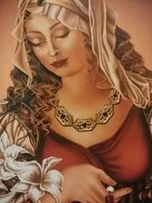 光のヒーリングルーム アジュールプラス カルアミーヤのブログ サロンで施術が終わったあとに 女神ギネヴィア