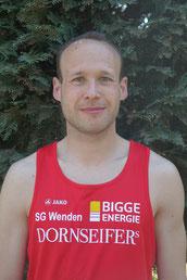 Ruben Niemann war über die 800m bei der DM unterwegs