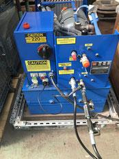 Huck 918 油圧ポンプ出張修理
