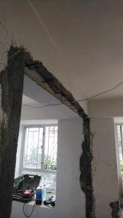 屯門裝修 - 房間打通後有三個大窗戶,感覺光猛