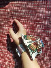 Nadelkissen fürs Handgelenk selbst nähen