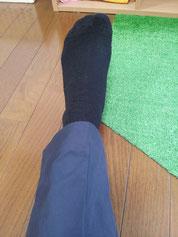 美脚の脚の使い方