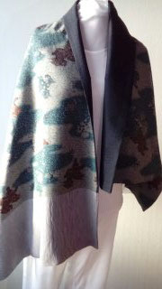 Etole en laine de kimono nagajuban
