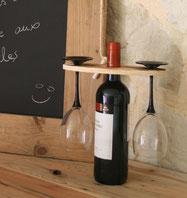 Support pour verres bois de palette Hautes-Pyrénées
