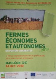 affiche communication fermes ouvertes ferme COUTANT And Cow 79 Mauléon