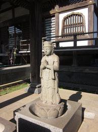浄行菩薩像