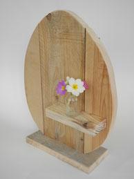 Osterei aus Holz
