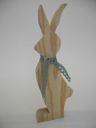 --BUNNY VI-- Mittlerer Hase aus Altholz