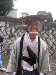 郷土史家の田邊先生