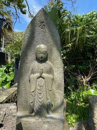 Hさんの菩提寺のお地蔵さま