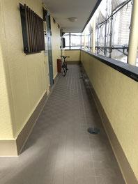 改修後 廊下長尺シート