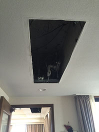 天井カセット マルチエアコン 工事