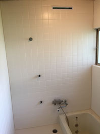 在来タイル浴室 3M ネオフィルム 東リ バスナフローレ リフォーム