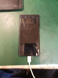 XPERIA XZ1充電口交換で通電チェック
