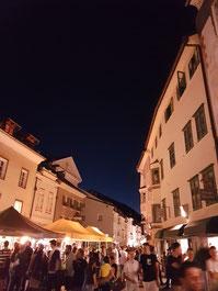 Brixen bein Nacht