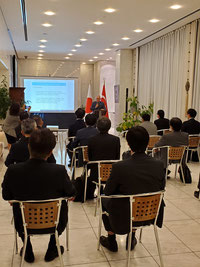 トルコ大使館にて