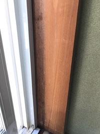 木部のカビ除去はオーシーエルサービス