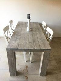 Steigerhouten tafel Groningen vanaf €229,-