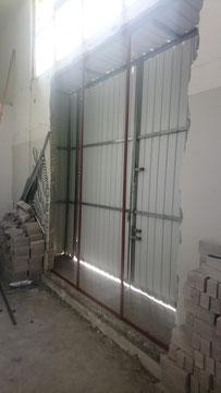 興建本地啤酒廠工程, 食品工場出牌 Wall demolition HK