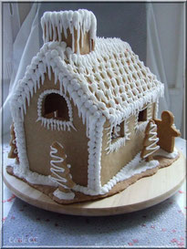 Christmas cake gingerbread