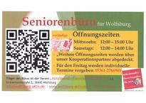 Seniorenbüro für Wolfsburg - Öffnungszeiten - Besprechungstermin - Informationen - Beratungen - Workshops