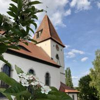 Kirche Mörlbach (Foto: A. Fröhlich)