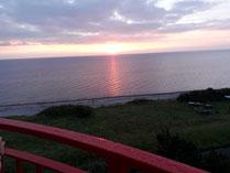Sonnenaufgang auf dem Leuchtturm