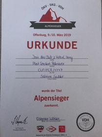 VDH-Alpensieger 2019