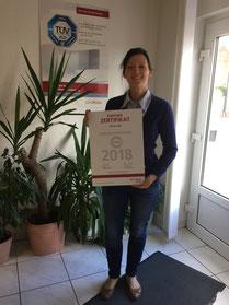 Katrin Mennicke, Geschäftsführerin der Nestor GmbH Immobilienfinanzierungen in Bad Dürrenberg