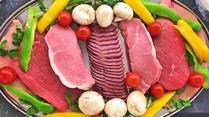 """Option sur demande: """"Repas en amoureux"""" - Pierrade avec bœuf, veau, volaille, canard, légumes à griller, pâtisserie (avec vin 79€/couple ou champagne 99€/couple)"""