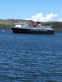 Die Fähre von Oban nach Craignure auf der Insel Mull