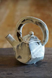陶芸作品 陶芸家 ブログ 料理 女性陶芸家 茨城県笠間市 粉引き作品 長皿 白い皿