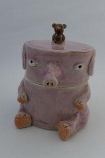 i-ppoたおか 陶人形 ゾウ ネズミ ハンドメイド