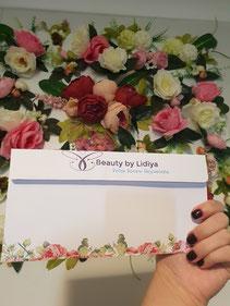 beauty pamper gift voucher safely loyalty card safe professional