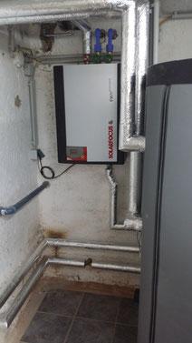 Warmwasser Frischwassermodul hygienische Warmwasserbereitung