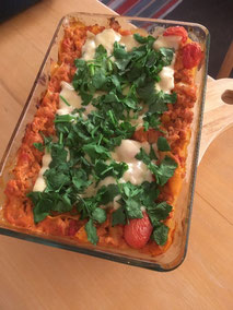 Soja-Lasagne