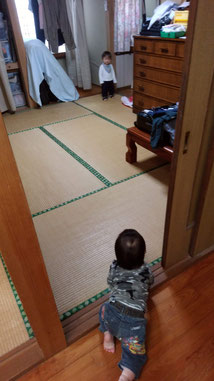 2人の赤ちゃんの写真