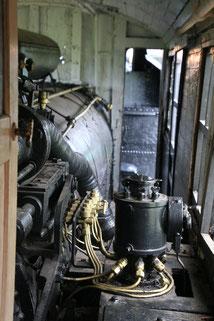ロータリーのエンジン右側