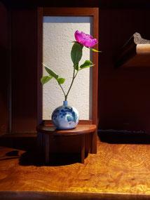 「古くて新しい、いけばな。宇田川理翁、展」 インカナザワハウス イベント 木工品 花台 オーダー 古流理恩会様