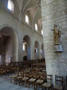 Bild: Benediktinerabtei Saint Pierre in Baume-les-Messieurs