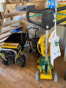 Maschinen Mieten für Holzbau Lehmbau
