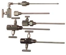 Dual flow sample probe, pitot probe, sample take-off probe