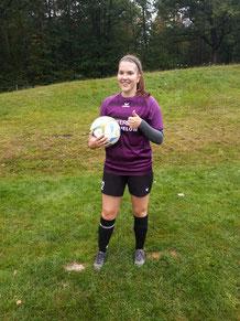 Sophia Scharmentke erzielte ihr erstes Tor für die FSG