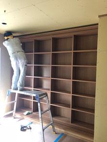 本棚 スライド書庫