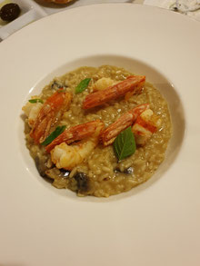 Barbouni Risotto