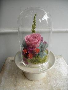 プリザーブドフラワーを使ったお供え花