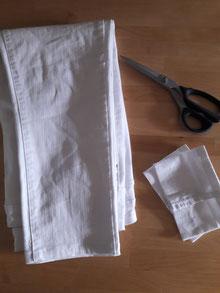 réalisation d'un ourlet de pantalon