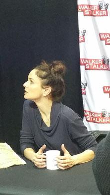 Sarah Wayne Callies at Walker Stalker