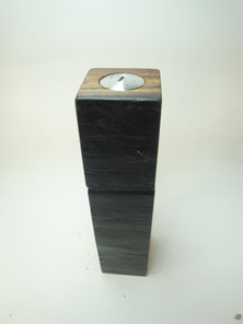 Pfeffermühle mit Salzstreuer aus dem integriertem Deckel Bierfass